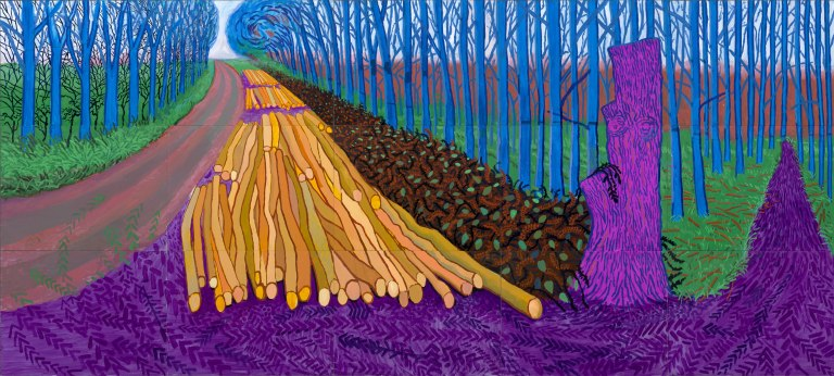 Son binaural, couleur des sons et David Hockney