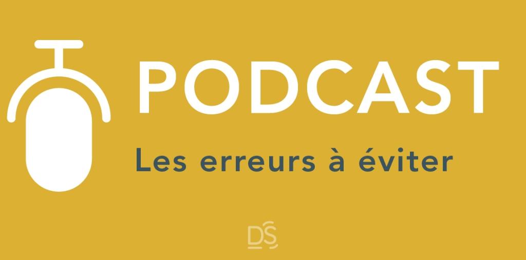 podcast erreurs à éviter dire-son studio  @copyright sephora schmidt